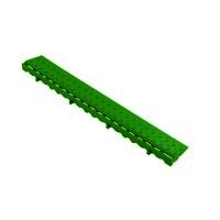 Боковой элемент обрамления с замками Альта-Профиль Зеленый