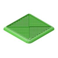 Газонная решетка с дополнительным обрамлением Альта-Профиль Зеленая