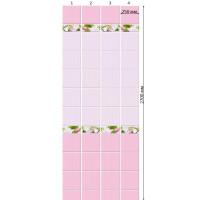 Стеновая панель ПВХ Кронапласт Unique Яблоневый цвет Розовый фон 2700х250 мм Сэндвич Панели ПВХ