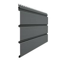 Софит Docke Standard без перфорации Графит 3050х305 мм