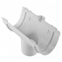 Воронка водосточная ПВХ Альта-Профиль Стандарт Белая 115/74 мм