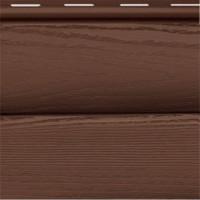 Сайдинг виниловый FineBer «BlockHouse» ExtraColor Могано