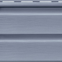 Cайдинг FineBer «Standart» ClassicColor Серо-голубой Корабельный Брус