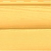 Сайдинг виниловый FineBer «BlockHouse»ClassicColor Янтарь